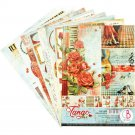 Ciao Bella A4 Creative Paper Pack - Tango (9 sheets)