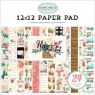 "Carta Bella 12""x12"" Paper Pad - Flower Market (24 sheets)"