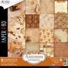 "Ciao Bella 12""x12"" Scrapbooking Creative Paper Pad - Collezione Autumn whispers (8 sheets)"
