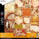 "Ciao Bella 12""x12"" Scrapbooking Creative Paper Pad - Sound Of Autumn (12 sheets)"