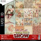"Ciao Bella 12""x12"" Scrapbooking Creative Paper Pad - The Greatest Show (12 sheets)"