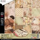 "Ciao Bella 12""x12"" Scrapbooking Creative Paper Pad - The Muse (12 sheets)"