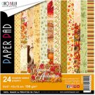 "Ciao Bella 6""x6"" Paper Pack - Sound Of Autumn (24 sheets)"