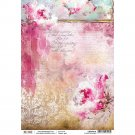 Ciao Bella A4 Rice Paper Sheet - Spring Melodies