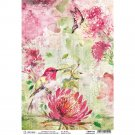Ciao Bella A4 Rice Paper Sheet - Hummingbird