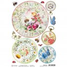 Ciao Bella A4 Rice Paper Sheet - Microcosmos Clocks