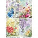 Ciao Bella A4 Rice Paper Sheet - Microcosmos Cards