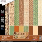 "Ciao Bella 12""x12"" Paper Pad - Codex Leonardo (8 sheets)"