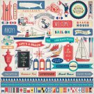 "Carta Bella 12""x12"" Yacht Club Cardstock Stickers"