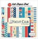 "Carta Bella 6""x6"" double-sided Paper Pad - Yacht Club (24 sheets)"
