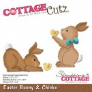 CottageCutz Dies - Easter Bunny & Chicks