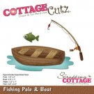 CottageCutz Dies - Fishing Pole & Boat