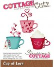 CottageCutz Dies - Cup Of Love