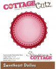 Cottagecutz Dies - Sweetheart Doilies
