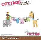 CottageCutz Dies - Baby Clothesline