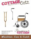 CottageCutz Dies - Wheelchair, Cane & Crutch