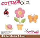 CottageCutz Dies - Stitched Garden Friends