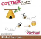 CottageCutz Dies - Stitched Honey Bees