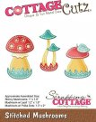 CottageCutz Dies - Stitched Mushrooms