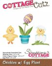 CottageCutz Dies - Chickies with Egg Plant