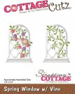 CottageCutz Dies - Spring Window with Vine