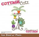 CottageCutz Dies - Iron Stand with Plants