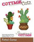 CottageCutz Dies - Potted Cactus