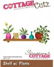 CottageCutz Dies - Shelf with Plants
