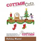CottageCutz Dies - Holiday Mantel