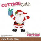 CottageCutz Dies - Jolly Santa Claus