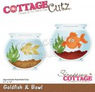 CottageCutz Dies - Goldfish & Bowl