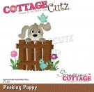 CottageCutz Dies - Peeking Puppy