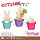 CottageCutz Dies - Spring Potted Bunnies