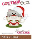 CottageCutz Dies - Kitten In Teacup
