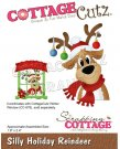 CottageCutz Dies - Silly Holiday Reindeer