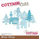 CottageCutz Dies - Winter Village