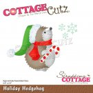 CottageCutz Dies - Holiday Hedgehog
