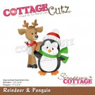 CottageCutz Dies - Reindeer & Penguin