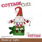 CottageCutz Dies - Gnome with Lights
