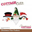 CottageCutz Dies - Christmas Pals Peekers