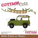 CottageCutz Dies - Safari Cruiser with Banner