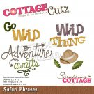 CottageCutz Dies - Safari Phrases