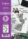 Crafters Companion A6 Unmounted Rubber Stamp Set - Winter Night