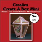 Crealies Create A Box Mini no. 01 Lantern