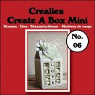 Crealies Create A Box Mini no. 06 Milk carton