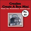 Crealies Create A Box Mini no. 07 Suitcase