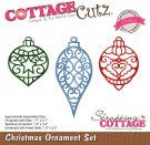 CottageCutz Dies - Christmas Ornament Set