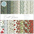 "Craft Consortium 6""x6"" Paper Pad - Festive Flora Essential Craft Papers (40 sheets)"