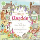 "Craft Consortium 12""x12"" Premium Paper Pad - Cottage Garden (40 sheets)"