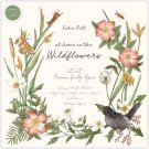 "Craft Consortium 12""x12"" Paper Pad - At Home in the Wildflowers (40 sheets)"